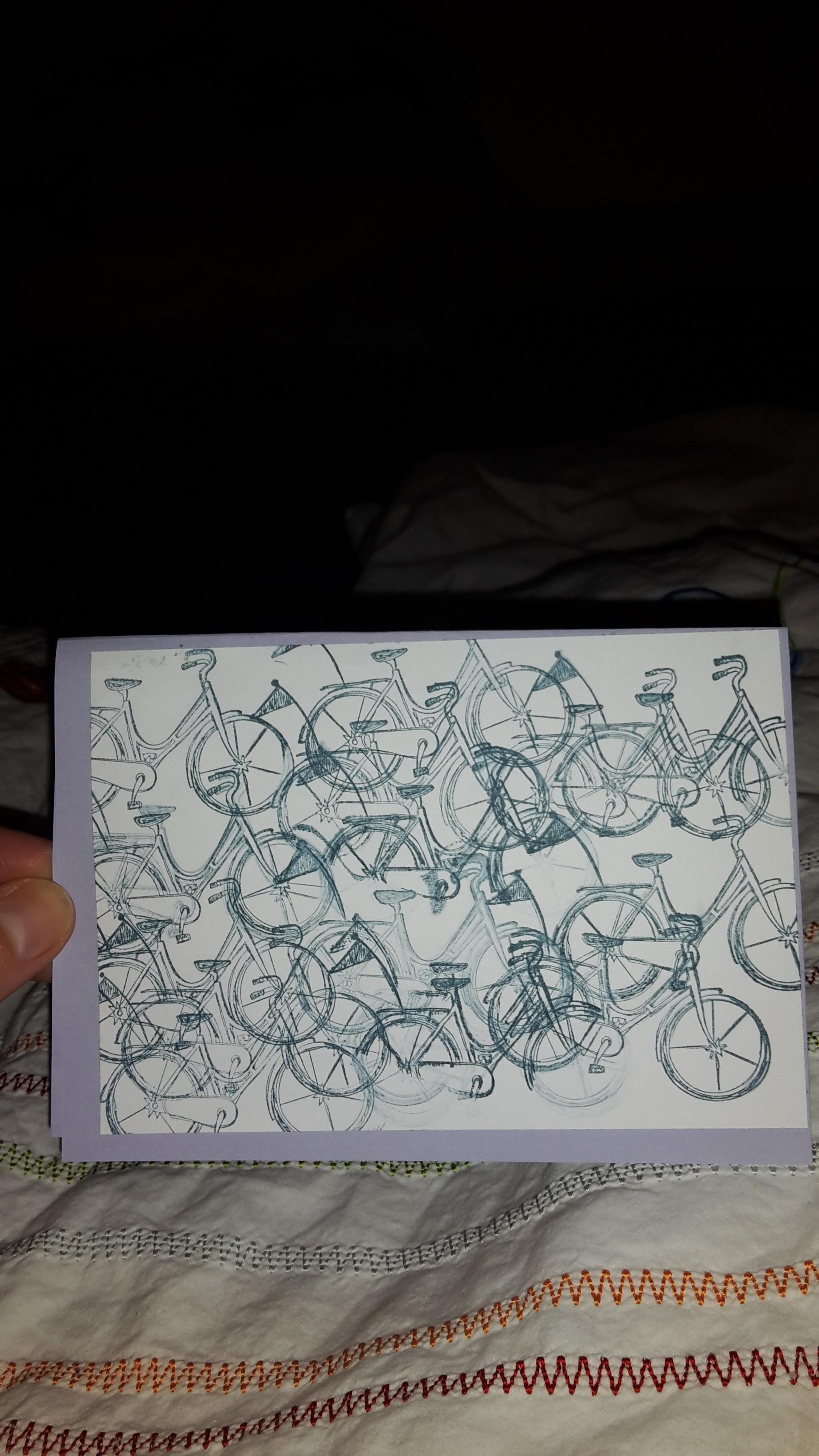 Meine Tochter (5) hat die Karte nachgebastelt