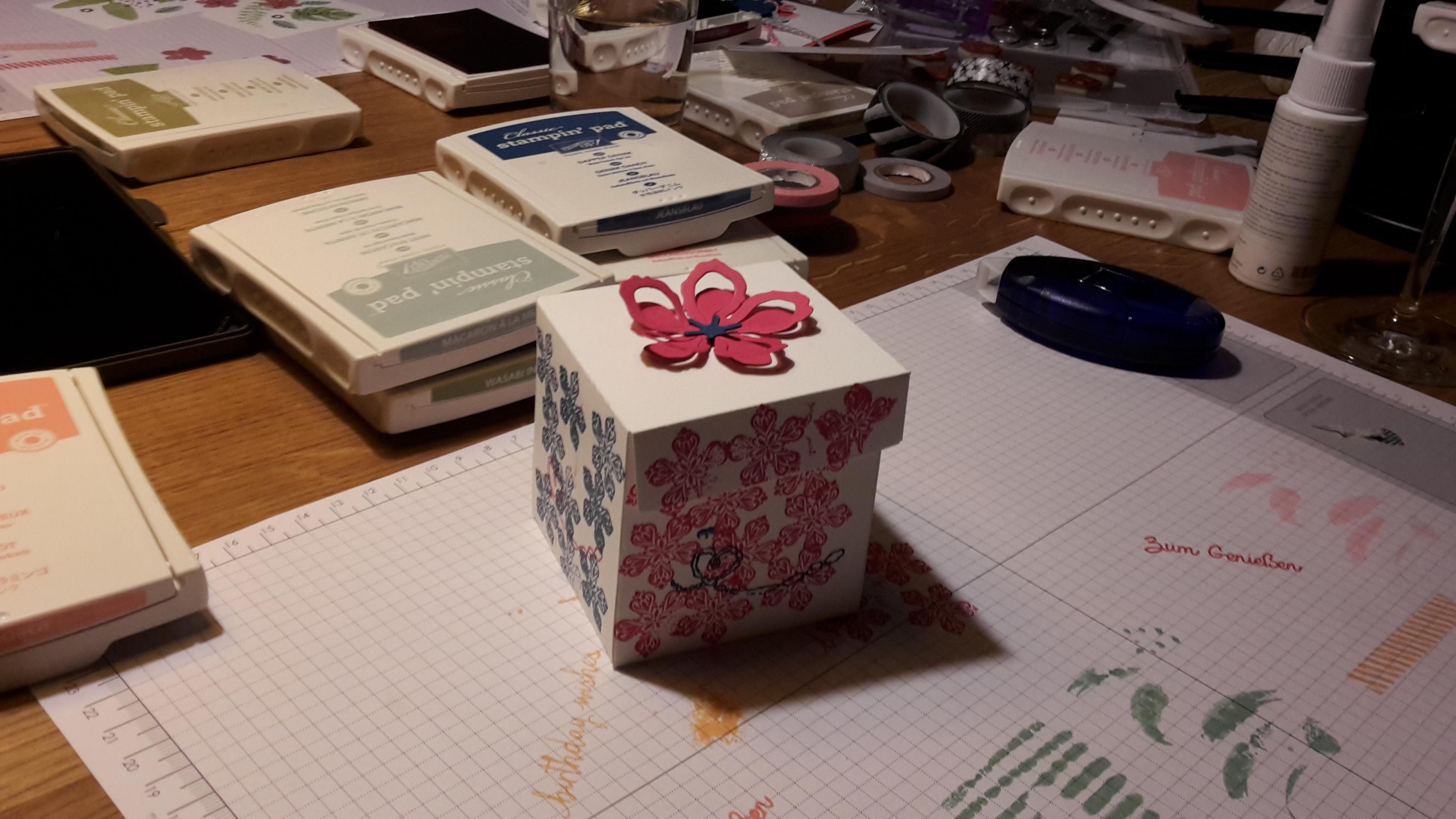 Eine hübsche Geschenkbox
